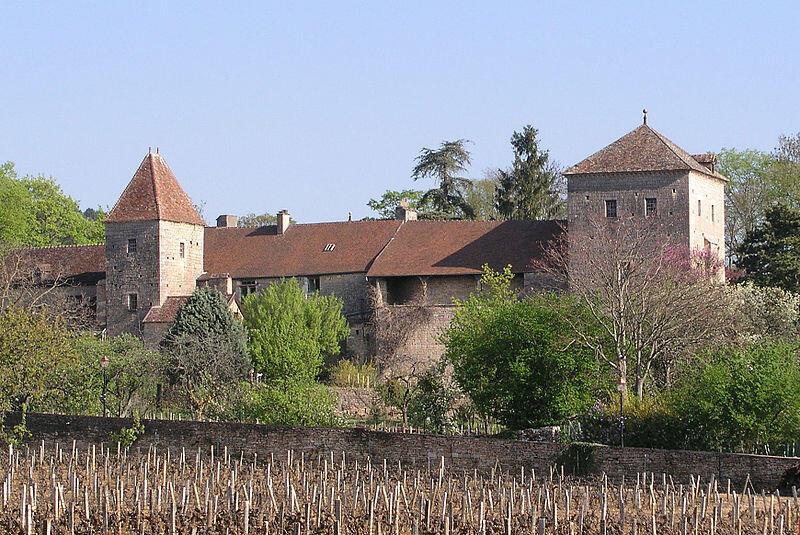 Chateau Gevrey Chambertim na região da Bourgogne