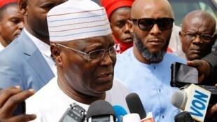 Dan takarar shugabancin Najeriya na Jam'iyyar PDP Atiku Abubakar