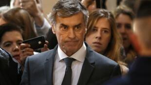 Бывший министр бюджета Франции Жером Каюзак, 8 февраля 2016.