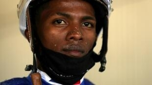 Jockey Ricardo Santana rode 30-1 longshot Fire at Will to victory on Friday at the Juvenile Turf at the Breeders' Cup