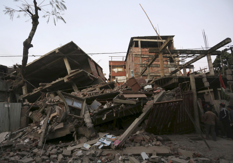 Um forte terremoto de magnitude 6,7 abalou o nordeste da Índia, como na cidade de Imphal