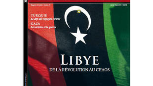 Couverture du magazine Moyen-Orient spécial Libye n°25 - janvier-Mars 2015.