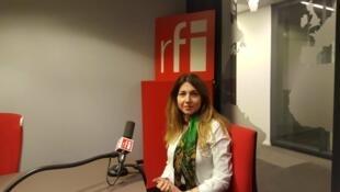 Shaparak Shajarizadeh, activiste et défenseure des droits des femmes en Iran