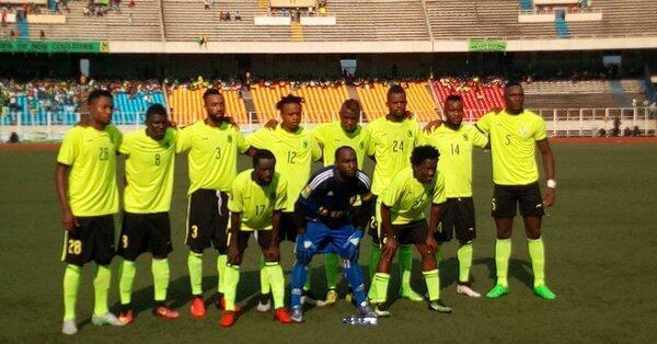 Wachezaji wa klabu ya AS Vita Club nchini DRC