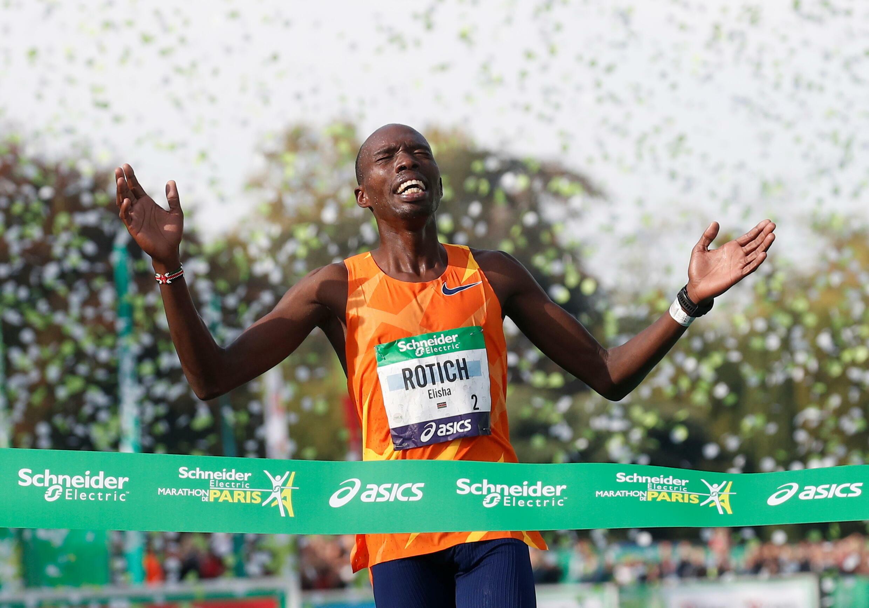 Elisha Rotich kenya marathon paris