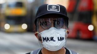 Администрация Гонконга собирается запретить ношение масок на акциях протеста