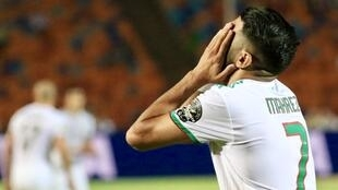 """Hope they don't expect that on Friday."" Algeria skipper Riyad Mahrez scored in the last minute against Nigeria to send Algeria into the Cup of Nations final for the first time since 1990."