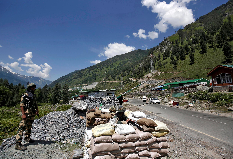 INDIA-CHINA Ladakh