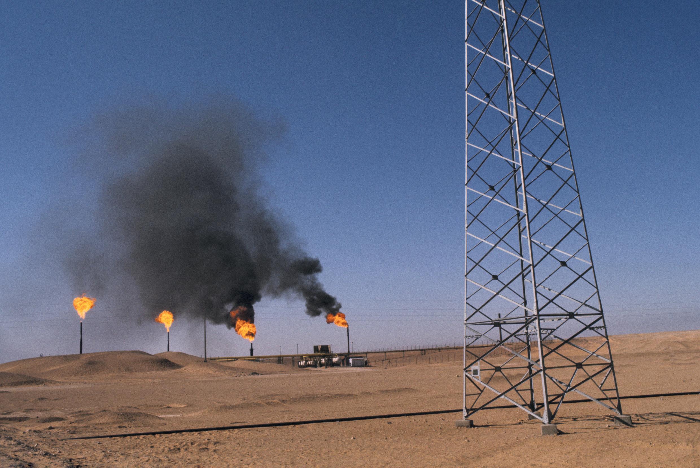 Puits de pétrole en Algérie. (Photo d'illustration)
