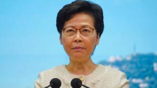 香港特首林鄭月娥 資料照片