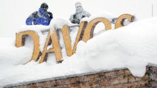 El Foro Económico Mundial abre este martes en Davos, bajo fuertes medidas de seguridad.