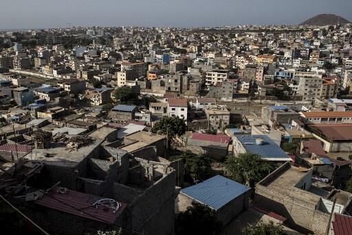 Cidade da Praia, Ilha de Santiago, Cabo Verde.