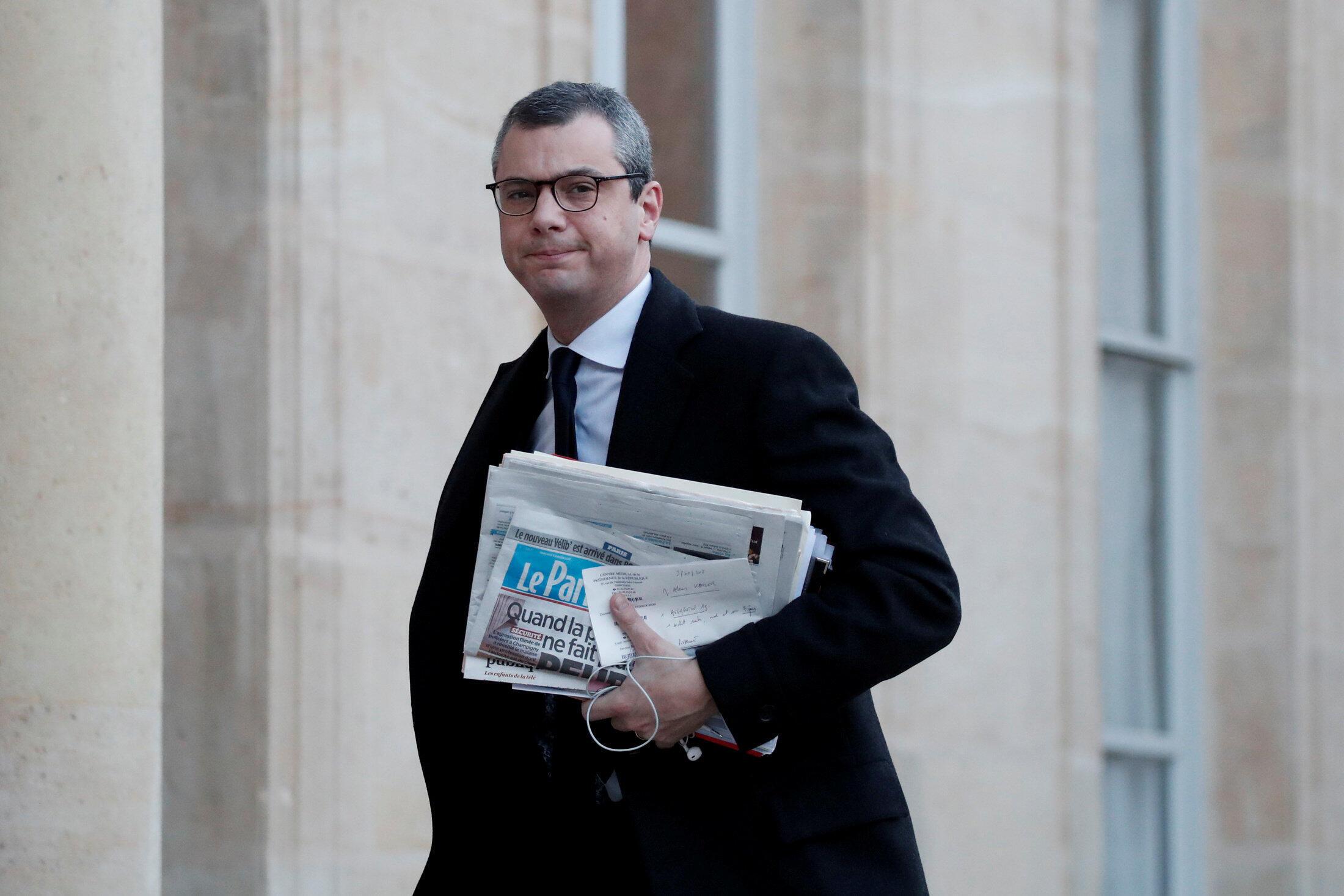 Alexis Kohler, secretário-geral do Palácio do Eliseu, é alvo de denúncia de corrupção passiva e tráfico de influência.
