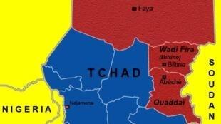 Taswirar kan iyakar Chadi da Libya