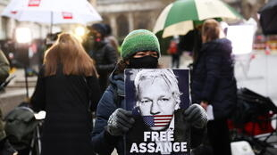 Julian Assange Old Bailey London Extradition