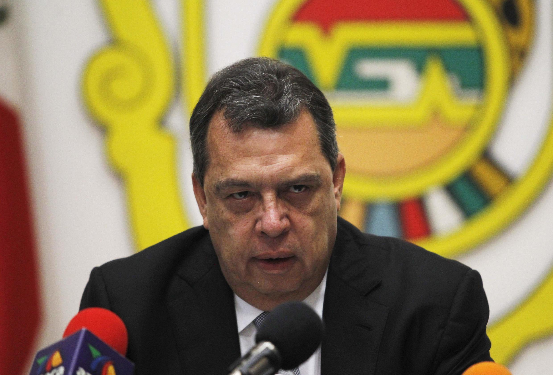 Angel Aguirre demitiu-se do cargo de governador de Guerrero em 23 de outubro de 2014.