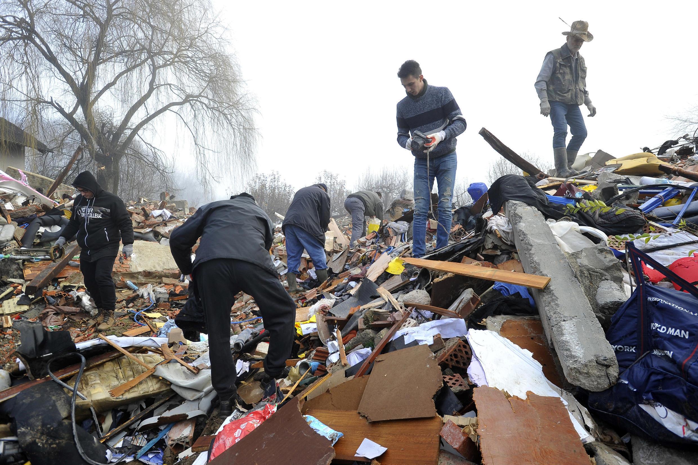 Croatie tremblement de terre seisme