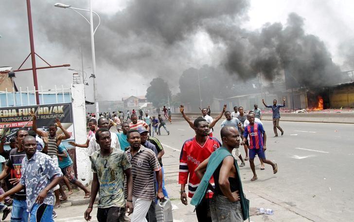 Maandamano yaliyopita jijini Kinshasa dhidi ya rais Joseph Kabila