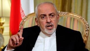 محمدجواد ظریف وزیر امور خارجه جمهوری اسلامی ایرا