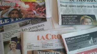 Primeiras páginas dos jornais franceses 19 de julho de 2019