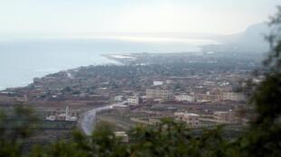 Une vue de la ville d'Hadibu la capitale de l'île de Socotra (image d'illustration).