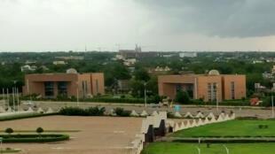 Le musée national et la bibliothèque nationale du Tchad, à N'Djamena.