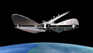 Imagem do prédio orbital Kairos, concebido pelo arquiteto brasileiro Emanuel Dimas de Melo Pimenta.