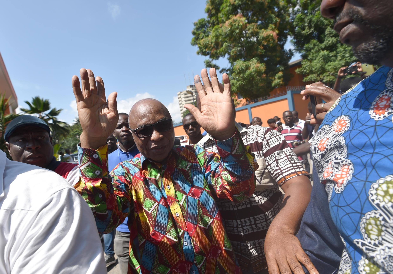 Le secrétaire général du FPI, Assoa Adou.