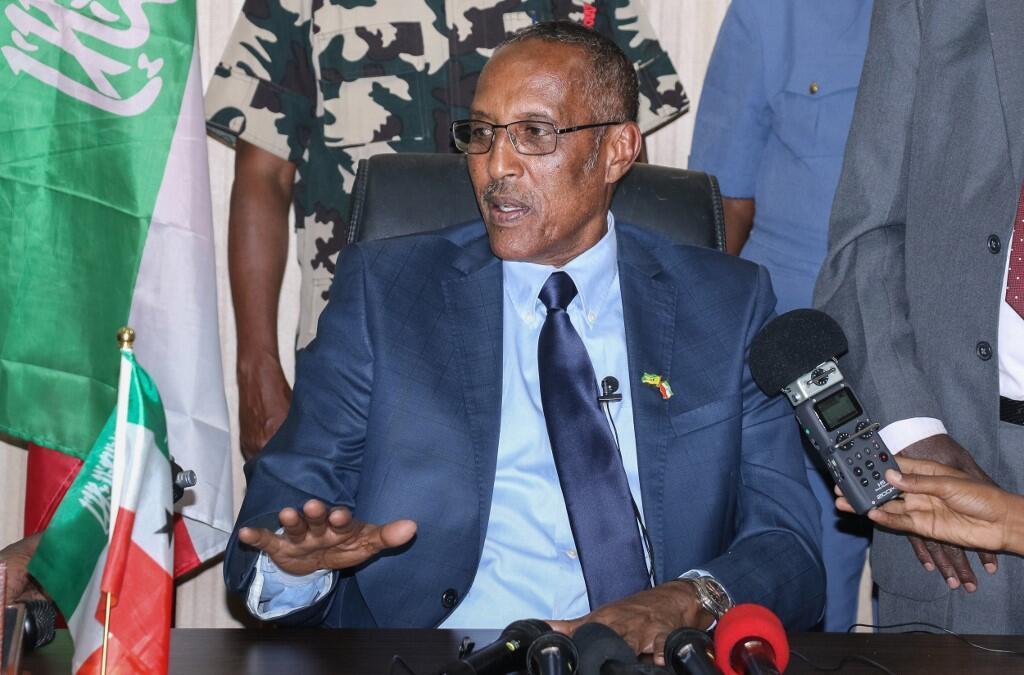 File photo of Somaliland President Muse Bihi Abdi in Hargeisa.