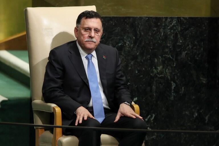 Fayez al-Sarraj, le chef du gouvernement d'union nationale en Libye, le 20 septembre 2017 à New York.