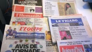 Diários franceses 20/05/2015