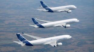 Airbus А320, А350, А380. 空客系列