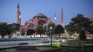 Tsohon katafaren gidan tarihi na Hagia Sophia da shugaban Turkiya Recep Tayyip Erdogan ya maida zuwa Masallaci.
