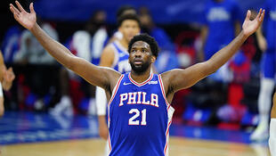 PHOTO Joel Embiid - 19 février 2021