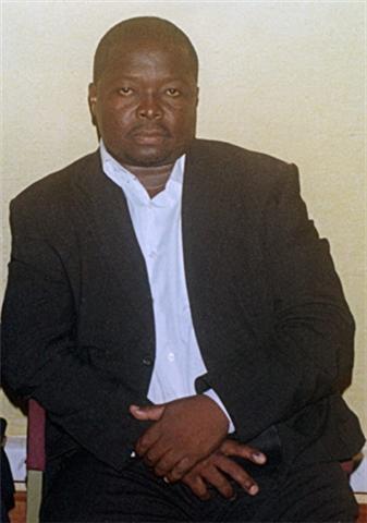 Le journaliste camerounais Bibi Ngota, décédé en prison à Yaoundé, en avril 2010.