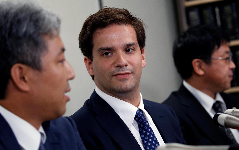 Mark Karpèles, ancien PDG de MtGox, ici  en juillet 2017 à Tokyo lors d'une audience de son procès.