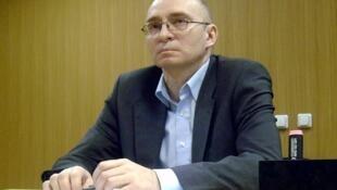 Бывший зам. начальника СИЗО Бутырка Дмитрий Кратов в зале суда (архив)