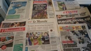 Diários franceses19/08/2015