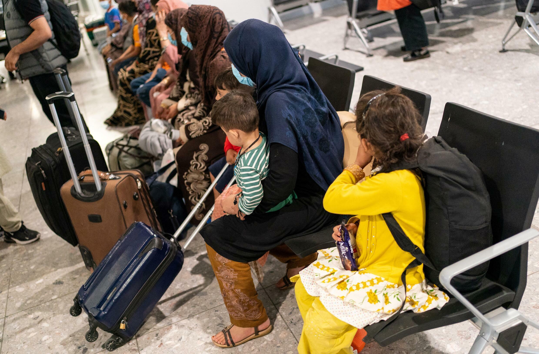 refugie afghanistan londre