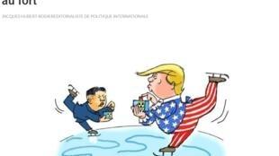 Ảnh minh họa bài viết trên báo Les Echos ngày 27/03/2018.