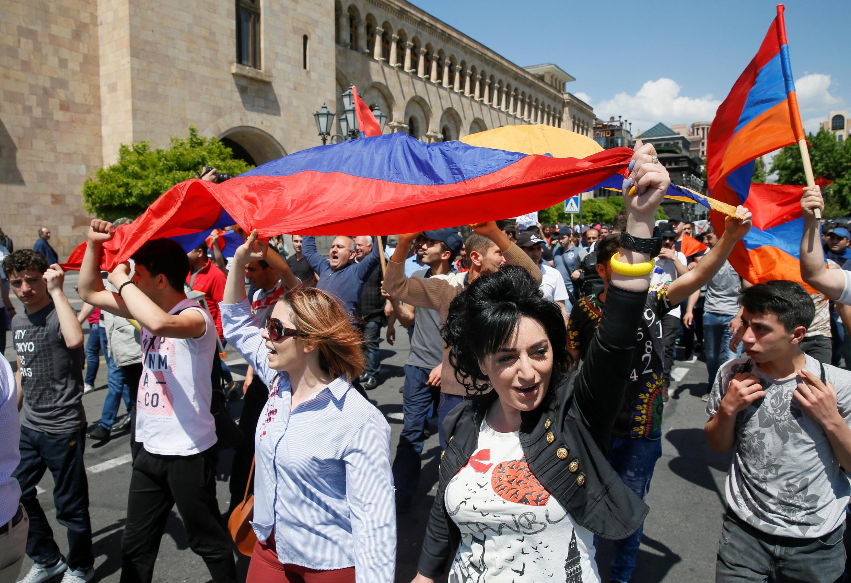 Ереван, 26 апреля 2018.