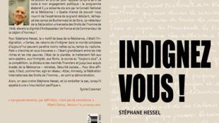 """Capa do livro de Stéphane Hessel, """"Indignez-vous!"""" publicação da editora Ingigène"""
