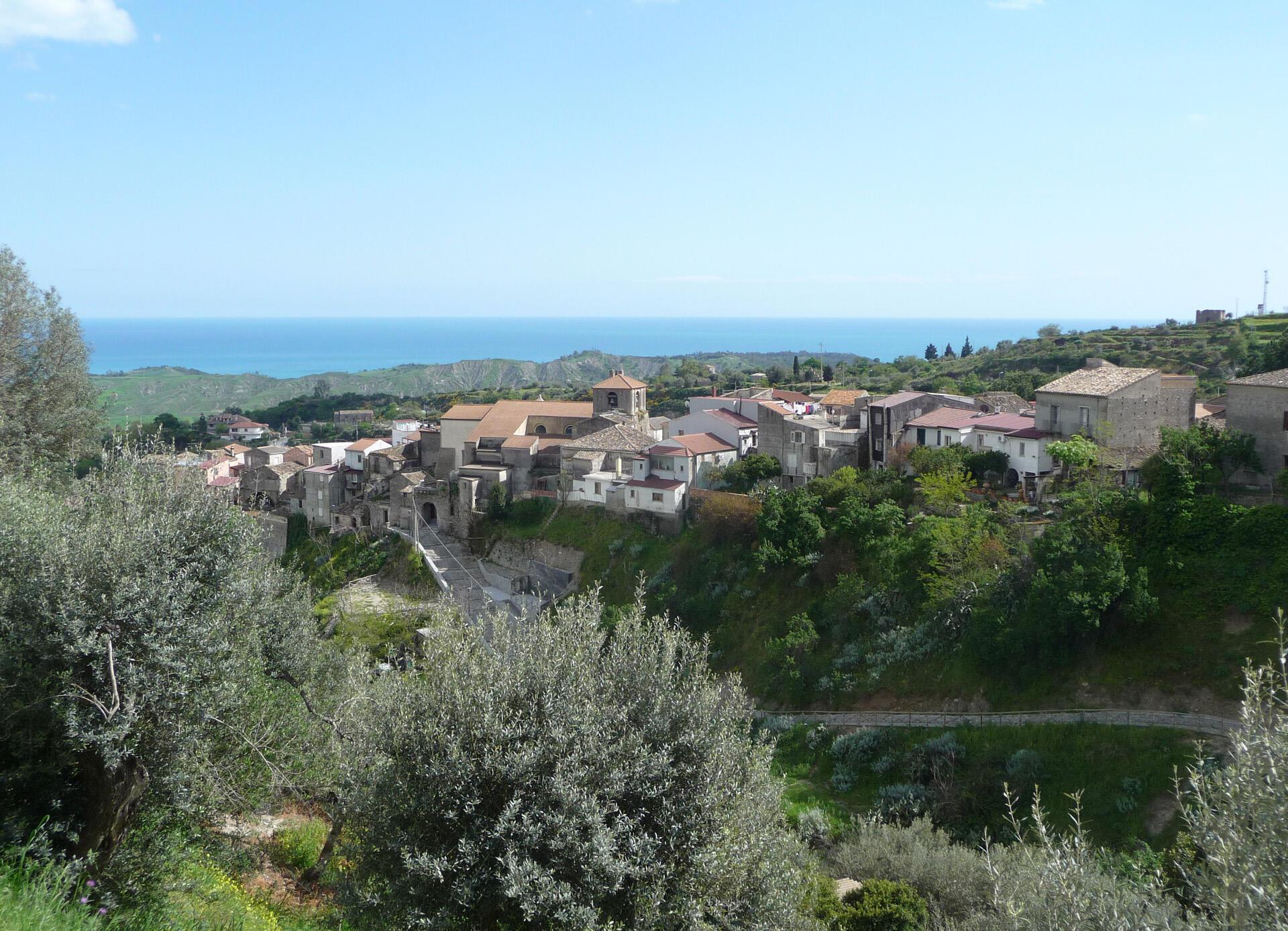 Le village de Riace dans le sud de la Calabre. (photo d'illustration).