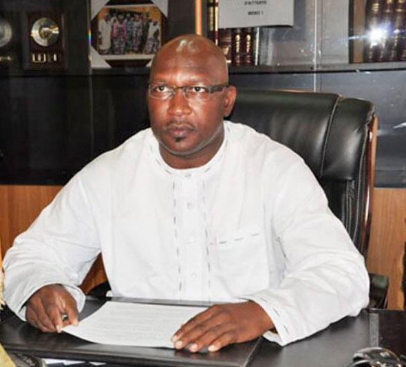 Soumana Sanda, député nigérien, n°2 du parti d'opposition Moden Lumana, ici à Niamey en janvier 2014.