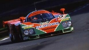 The Mazda that won Le Mans in 1991