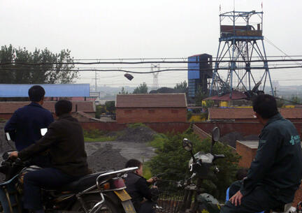 La mine de charbon Xinhua, dans la province de Henan en Chine.