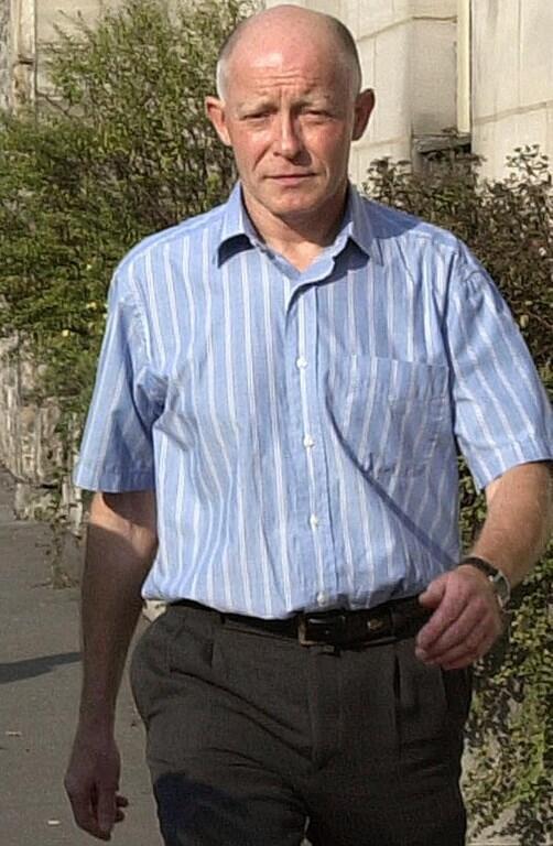 Patrick Henry ici photographié en août 2002, un an après sa libération sous conditions.