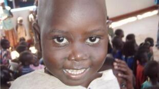 Wani yaro a Uganda