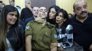 Elor Azaria, soldado israelita condenado por homicídio qualificado