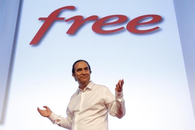 Xavier Niel, PDG de Free.